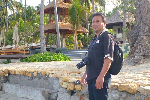 Me in Senggigi