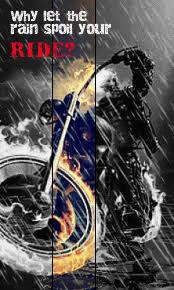 ride rain ghost